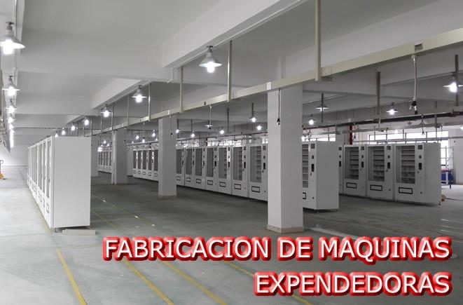FABRICACION DE MAQUINAS EXPENDEDORAS