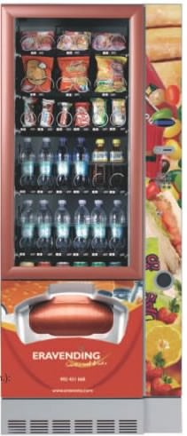 Maquina expendedora de snacks y bebidas Eravending Serie L