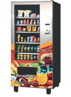Maquina expendedora de Snacks y Bebidas modelo Eravending Premium Medium