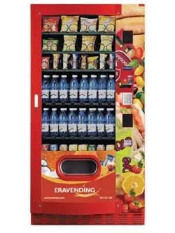 Maquina expendedora de snacks y bebidas acorazada SF Panzer Maxi