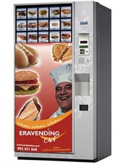Maquina expendedora de comida caliente modelo Eravending Cheff