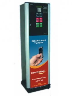 Maquina expendedora de Recargas modelo Eravending Maxi Online