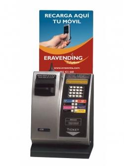 Maquina expendedora de Recargas modelo Eravending Mini Online