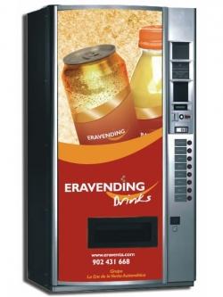 Maquina expendedora de Bebidas Frias modelo Eravending B8