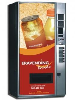 Maquina expendedora de Bebidas Frias modelo Eravending B6