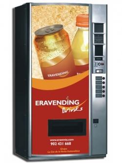 Maquina expendedora de Bebidas Frias modelo Eravending B5