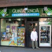 Expendedora de Parafarmacia ubicada en la Parafarmacia Quintaesencia en Bilbao