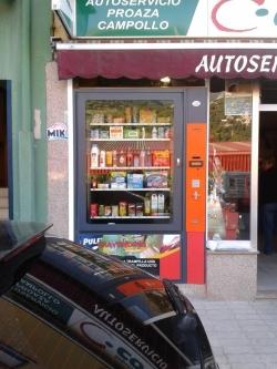Expendedora de productos de supermercado en Proaza - Asturias