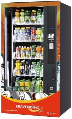 Maquina expendedora de bebidas frias B6 Crystal