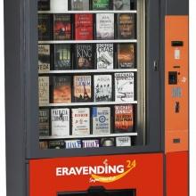 Maquina expendedora de libros con ascensor