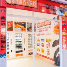Tienda Automática Abierto 25 Horas en Mahon - Menorca