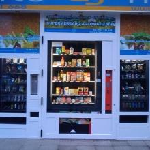 Expendedora de productos de supermercado en Leon