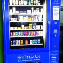 Expendedora de productos de Parafarmacia en la Estación de Autobuses de Oviedo - Asturias