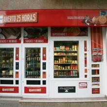 Expendedora de productos de supermercado en El Altet - Alicante