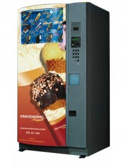 Maquina expendedora de helados y productos congelados modelo Ice Cream Maxi