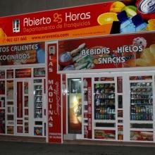 Expendedora de helados en Tienda Abierto 25 Horas en Madrid