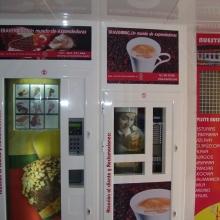Expendedora de helados en Tienda Abierto 25 Horas en Gandia
