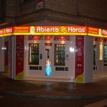 Expendedora de recargas telefónicas modelo Eravending Maxi Online en Tienda Abierto 25 Horas en Gijon