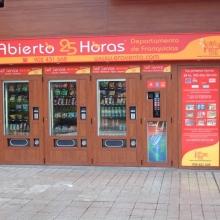 Expendedora de recargas telefónicas modelo Eravending Maxi Online en Tienda Abierto 25 Horas en Aviles