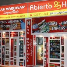 Expendedora de Comida caliente modelo Eravending Cheff en la Tienda Abierto 25 Horas en Madrid
