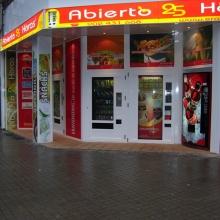 Expendedora de Comida caliente modelo Eravending Cheff en la Tienda Abierto 25 Horas en Ponferrada