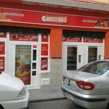 Expendedora de Comida caliente modelo Eravending Cheff en la Tienda Abierto 25 Horas en Sevilla