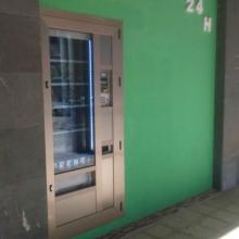 Maquina expendedora de Periodicos y Revistas en Poniente - Gijon