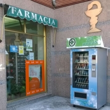 Expendedora de productos de Parafarmacia en la Hontalbilla - Madrid