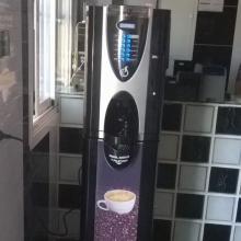 Maquina expendedora de café instalada en Madrid