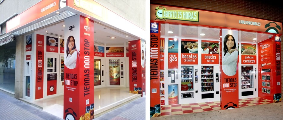 Tiendas Vending 24 Horas en Malaga