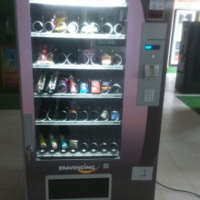 Maquina expendedora de productos eroticos Lolita