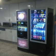 Cafetería Automatizada B2CUPS en Mivisa - Llanera (con mas de 200 trabajadores).