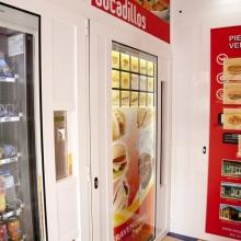 Expendedora de Comida caliente modelo Eravending Cheff en la Tienda Abierto 25 Horas en Oviedo
