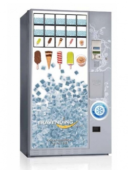 Máquina expendedora de bolsas de hielo
