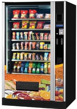 Maquina expendedora de Snacks y Bebidas modelo Eravending Premium Maxi