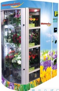 Maquina expendedora de Flores y Regalos modelo Eravending Flowers