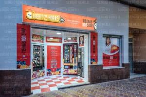 Nueva tienda , ABIERTO 25 HORAS , en la localidad Valenciana de Naquera , con 4 máquinas expendedora