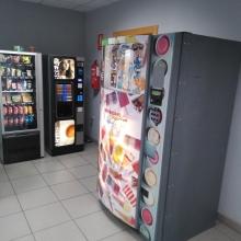 Expendedora de helados en la empresa del muelle de Alicante , tms .