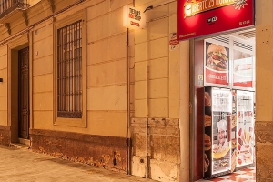 Malaga , apertura nueva tienda premium abierto. 25 horas , con 9 expendedoras.