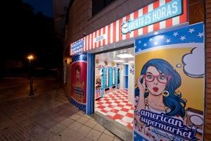 AVILES , Principado de Asturias, inauguramos , nueva tienda vending AMERICAN SUPERMARKET 24H ,