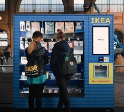 Máquinas para vender sus propios productos
