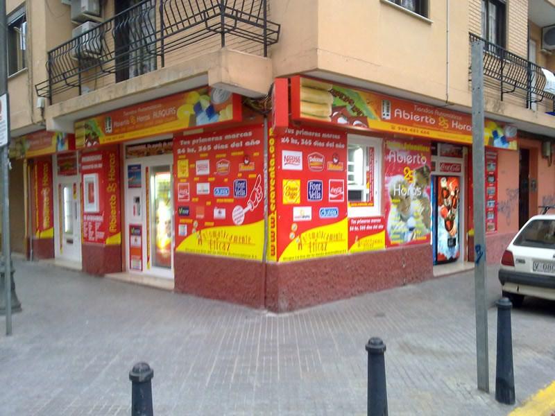 Tienda Abierto 25 Horas Alaquas - Valencia