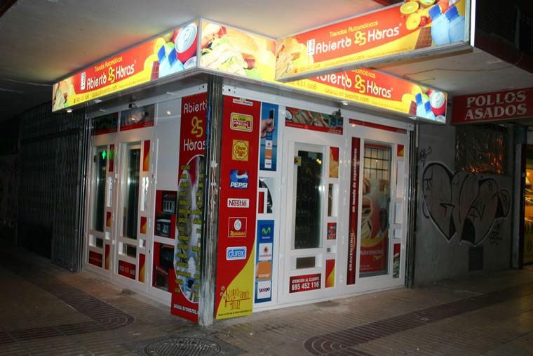Tienda Abierto 25 Horas en Calle Alcala - Madrid