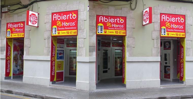 Tienda Abierto 25 Horas en Gandia - Valencia