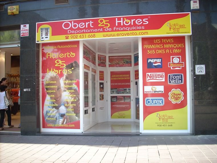Tienda Abierto 25 Horas en Calle Joaquín Vayreda, Gava - Barcelona