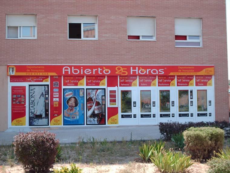 Tienda Abierto 25 Horas Sta. Maria de la Inquerencia-Toledo