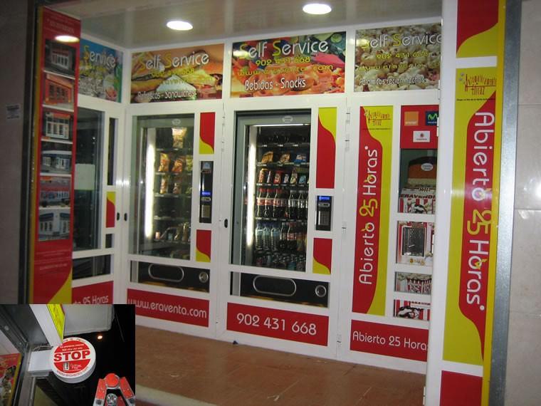 Tienda Abierto 25 Horas Maximiliano - Madrid