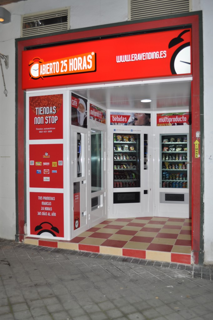 Tienda Automatica Abierto 25 Horas en Avda. Filipinas - Madrid