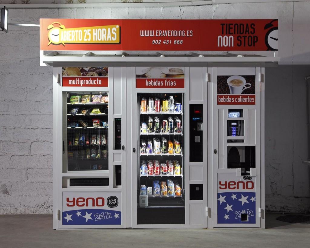 Vista frontal de la tienda abierto 25 horas de Rafelbuñol - Valencia