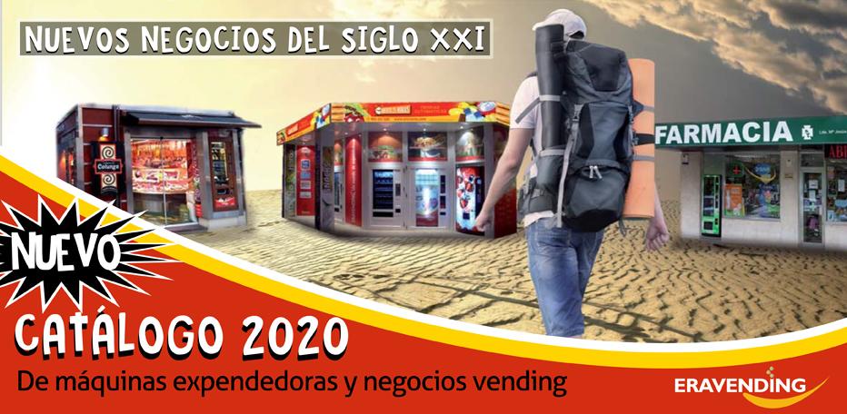 Nuevo Catálogo de Máquinas Expendedoras 2020